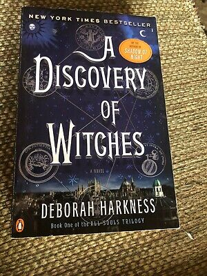All Souls Trilogy: A Discovery of Witches Bk. 1 by Deborah Harkness (2011,...