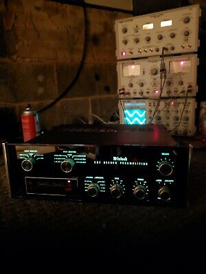 Mcintosh C27 Stereo Preamplifier Serviced Tested Original Working Vintage