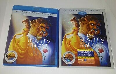 Beauty and the Beast (Blu-ray/DVD) 25th Anniversary Edition W/ Slipcover