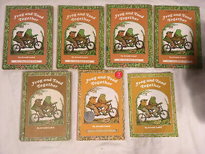 Guided lot FROG AND TOAD TOGETHER teacher ARNOLD LOBEL Classroom lot of 7