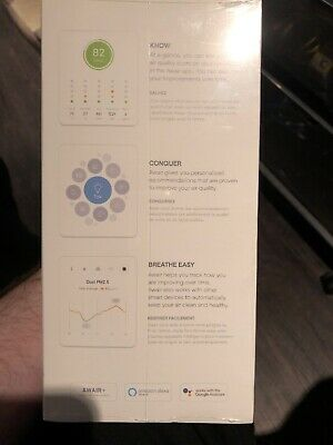 Awair 2nd Edition: See The Invisible - Air Quality Monitor [Fine Dust, CO2 And