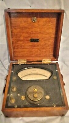 Antique Robert W. Paul Voltmeter