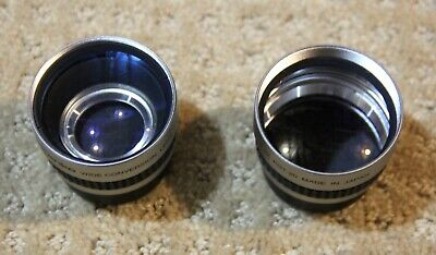 Kenko KGT-20 - KGW-05 Tele Conversion and Wide Angle Conversion Lenses