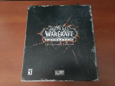 World of Warcraft Cataclysm Collector's Edition Complete No Key