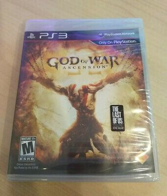 New God of War: Ascension Sony PlayStation 3 PS3 Factory Sealed!