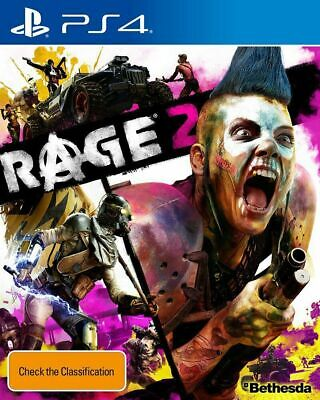 RAGE 2 - PS4 Playstation 4 - Brand New Sealed - FREE EXPRESS POST