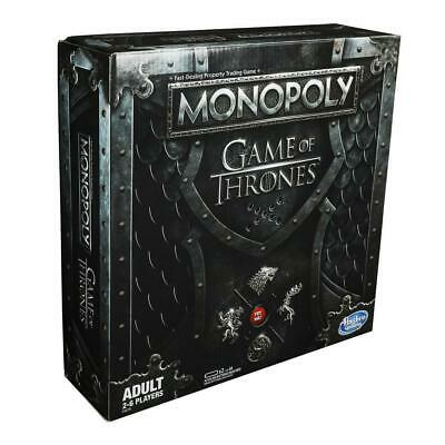 Monopoly Game of Thrones 2019 Refresh Edition Board Game NEW