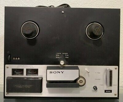 Vintage Sony TC-250A Reel to Reel Tape Player