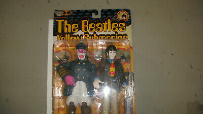 The Beatles Yellow Submarine Figure McFarlane Toys PAUL with Captain Fred 1999