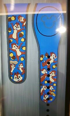Disney CHIP & DALE Ultimate All Over Blue Magic Band 2.0 Magicband Parks NEW