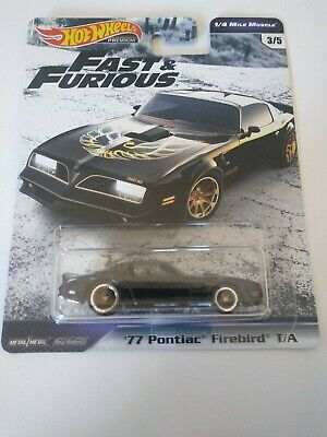 2019 Hot Wheels Fast & Furious '77 PONTIAC FIREBIRD T/A 1/4 Mile Muscle IN HAND