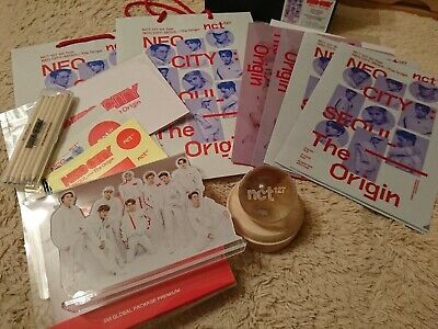 NCT127 1st tour NEO CITY Global Package Set Mood Light goods limited official B