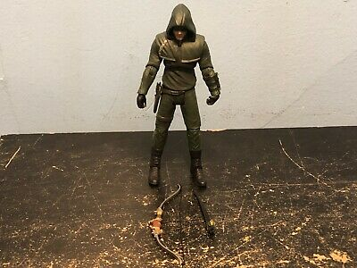 """DC Collectibles Direct Green Arrow TV Show 7"""" Action Figure Oliver Queen Complet"""