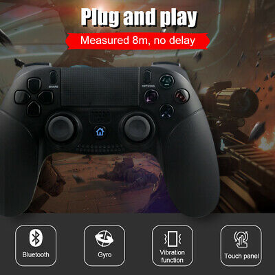 Wireless Bluetooth Gamepad Remote Game Controller Vibration Motor For PS4 UK