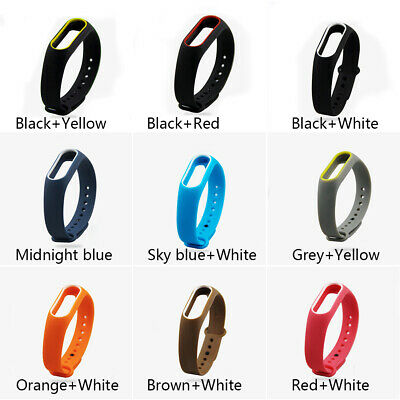 From UK For Xiaomi MI Band 2 Replacement Wrist Strap Silicone WristBand Bracelet