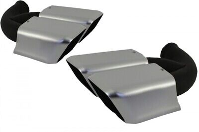 Exhaust Tips Muffler Tips for PORSCHE Cayenne 958 S Turbo Cayenne Turbo S GTS