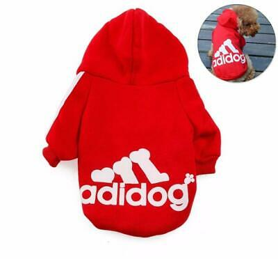 Pet Dog Cat Puppy Sweater Hoodie Coat For Small Pet Dog Warm Costume Apparel UK