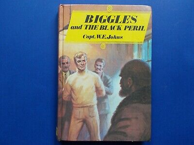 ## BIGGLES and the BLACK PERIL - CAPTAIN W. E. JOHNS - VINTAGE HARDCOVER