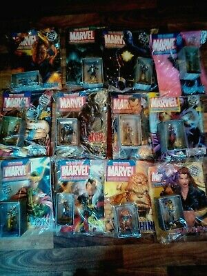 Marvel Classic Figurine Collection With magazine Eaglemoss Various figures.