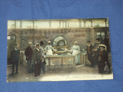 VICHY SOURCE LUCAS thermales thermes eau CPA carte postale ancienne cp allier