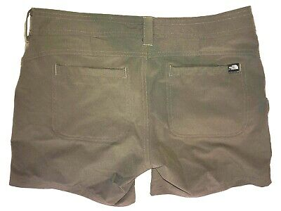 ae319a734a The North Face Women's Hiking Camping Outdoors Casual Shorts Khaki Size 4