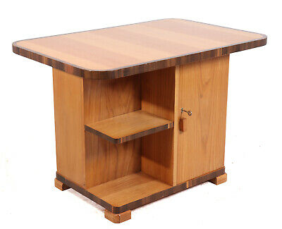 Art Deco Coffee Table in Ash and Walnut