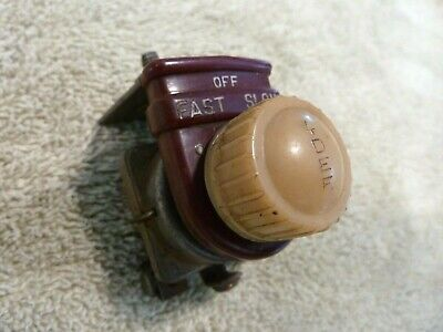 VINTAGE 1930's 40's 50's HEATER DEFROST FAN SWITCH CHEVY FORD CHRYSLER NASH