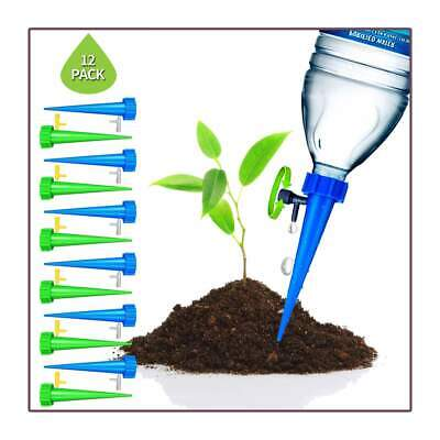 AUTOMATIC WATER IRRIGATION CONTROL SYSTEM - 12 PCS Plant Spikes System with Slow