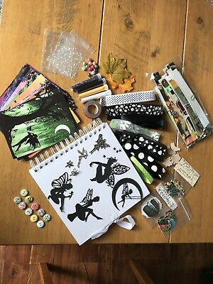 Scrapbook Pack Including 8x8 Book Fairy Themed