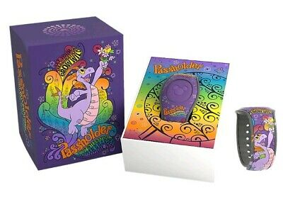 2019 Disney Epcot Flower And Garden Festival Passholder Magic Band Figment NEW