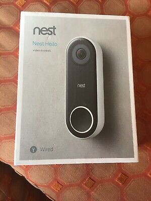 NEST Hello Video Doorbell,Brand new in box Never used