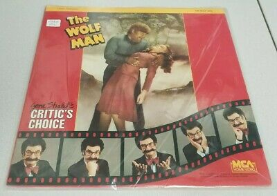 THE WOLF MAN - Laserdisc - Gene Shalit's Critic's Choice - Universal Monsters