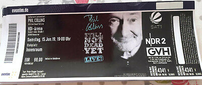 1x Ticket: PHIL COLLINS in Hannover 15.06.2019 (Stehplatz - Innenraum)