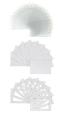 Photo Picture Mounts -white colour 16'' x 20'' to fit 15.5''x11.5'' pack of 25