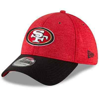 size 40 2f4a7 20f5b New Era San Francisco 49ers NFL 39THIRTY Cap - Red Black