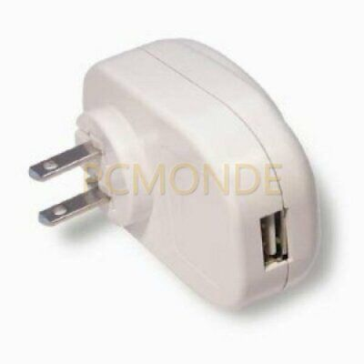 Apple iPod Home Travel Wall AC USB Charger Adapter Power Supply
