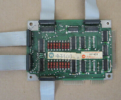 Williams Pinball Master Display Driver Board, Systems 7 & 9 - Working w/cables