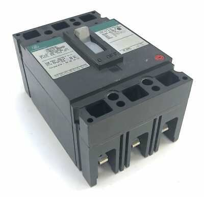 General Electric TED136030 3 Pole 30 Amp 600 Vac Circuit Breaker (T4)