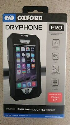 Oxford Dryphone Pro Case Cover For iPhone 6/7 Motorbike Motorcycle Bike Mount