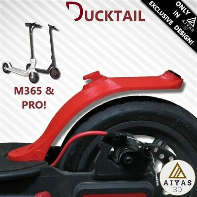 GUARDABARROS DUCKTAIL MUDGUARD - ¡EXCLUSIVO! Corto Sport Xiaomi M365/M187/PRO 3D