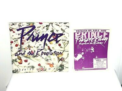 Prince and the Revolution 1984-85 Purple Rain World Tour Concert Program Book