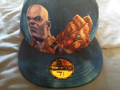 Avengers Infinity War Thanos Hat New Era 59Fifty Fitted Size 7 3/4