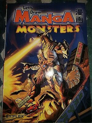 Let's Draw Manga Monsters Book. By Plex.