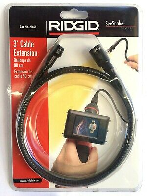 3-Foot Cable Extension for Ridgid SeeSnake micro - Ridgid 26658