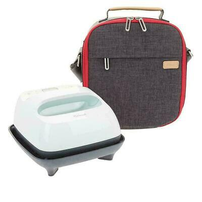 "Cricut 6""x7"" Mint EasyPress 2 with Mat and Tote Travel Bundle New Easy press"