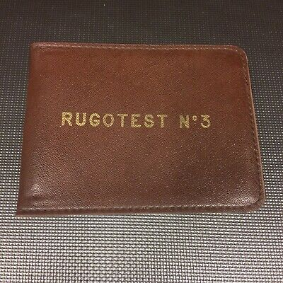 Rugotest No. 3 - German Engineering Surface Roughness Comparator