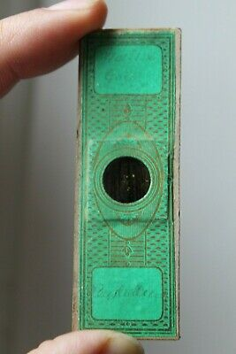 "Fine Antique Microscope Slide ""Native Gold Australia"" ? Topping"