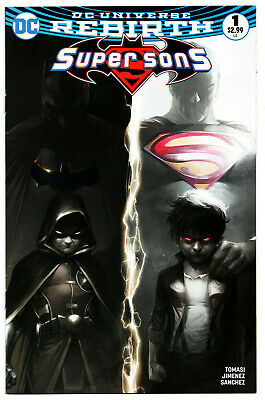 Super Sons 1 - Variant Cover (Modern Age 2017) - 9.2
