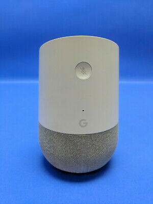 Google Home Smart Speaker with Google Assistant  White/Slate with Power Cord