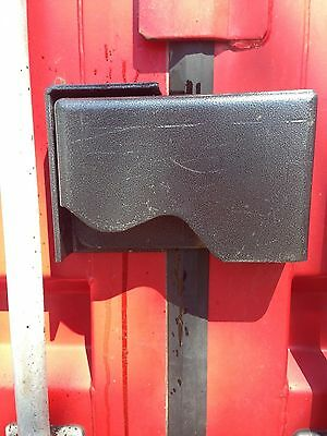 Cargo Container Security Lock Box W/Block lock ,Bolts,Template & Free Shipping